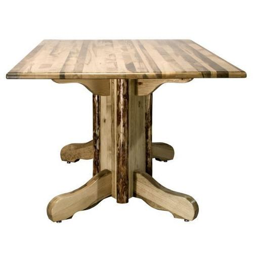 Montana Woodworks - Glacier Country Collection Double Pedestal Table