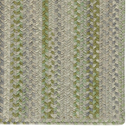 Fusion Botanical Green Braided Rugs