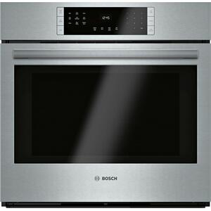 BOSCH800 Series Single Wall Oven 30'' Stainless Steel HBL8453UC