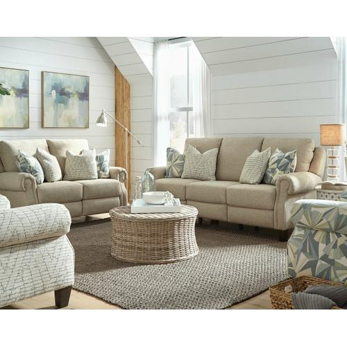 Southern Motion - Double Reclining Power Loveseat with Pillows