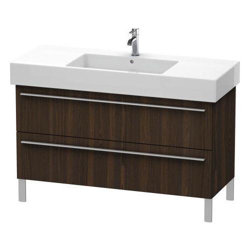 Product Image - Vanity Unit Floorstanding, Brushed Walnut (real Wood Veneer)