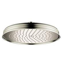 Polished Nickel Overhead shower 240 1jet 2.0 GPM