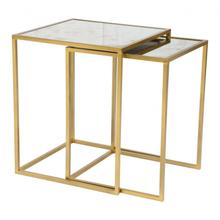 See Details - Calais Nesting Tables Brass