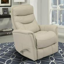 GEMINI - IVORY Manual Swivel Glider Recliner