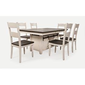 Madison County High/low Table W/(6) Chairs