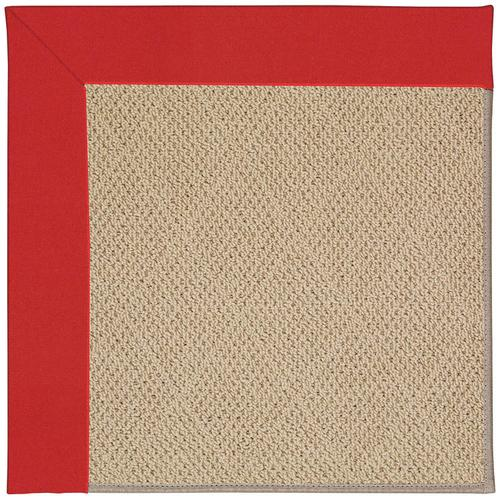 Creative Concepts-Cane Wicker Canvas Jockey Red Machine Tufted Rugs
