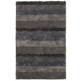 Skyline Shag Grey Multi - Rectangle - 5' x 8'