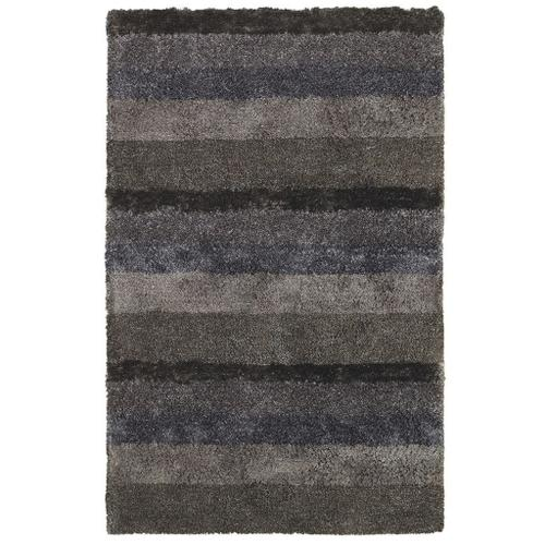 Skyline Shag Grey Multi - Rectangle - 5' x 8'