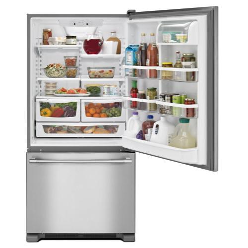 Maytag Canada - 30-inch Bottom Freezer Refrigerator with Freezer Drawer