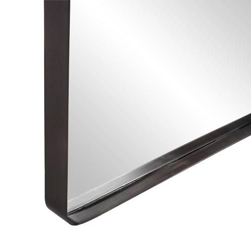 Howard Elliott - Steele Black Oversize Mirror