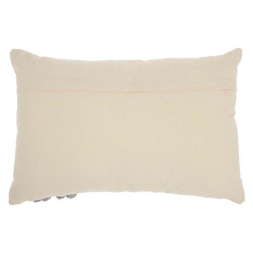 "Life Styles Rc223 Grey 16"" X 24"" Throw Pillow"