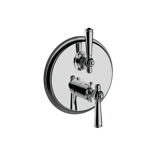 "7095jp-tm - 1/2"" Thermostatic Trim With Volume Control in Polished Rose Gold"