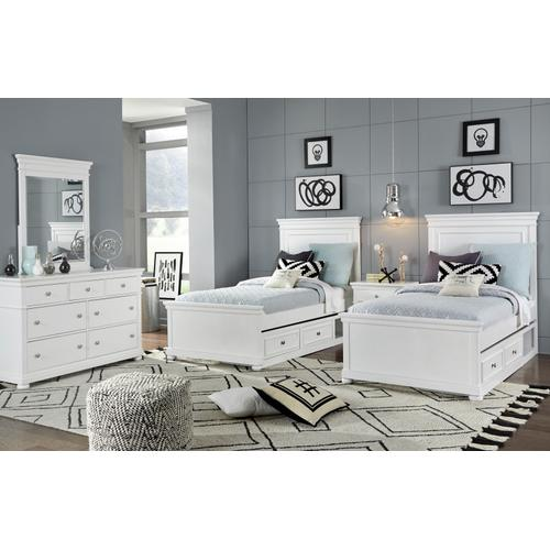 Canterbury - White Dresser