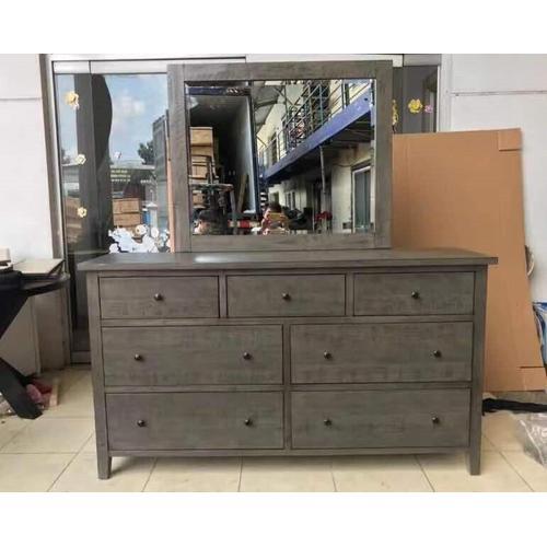 Jofran - Maxton 4 Piece Cal King Bedroom Set: Bed, Dresser, Mirror, Nightstand