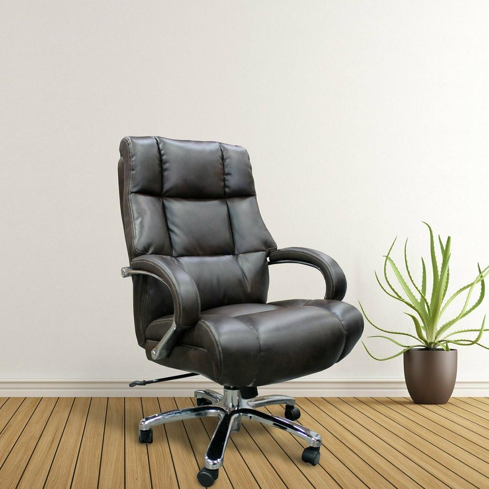 DC#300HD-CAF - DESK CHAIR Fabric Heavy Duty Desk Chair - 500 lb.