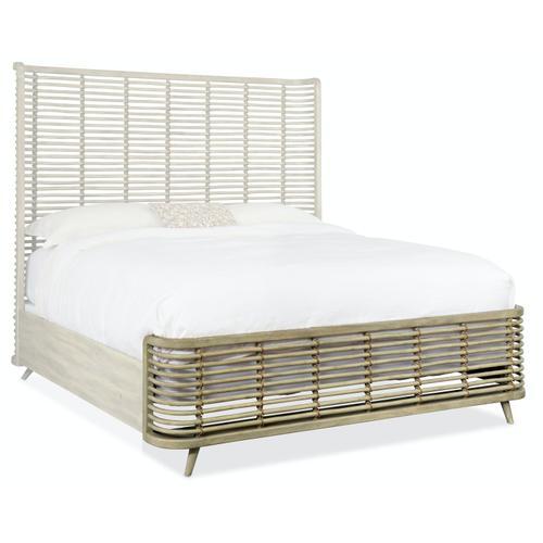 Bedroom Surfrider Queen Rattan Bed