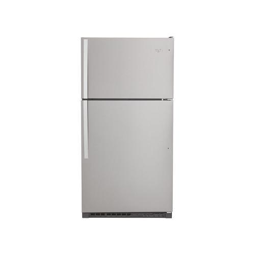 Whirlpool - 33-inch Wide Top Freezer Refrigerator - 20 cu. ft.