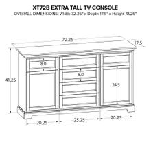 XT72B Extra Tall Custom TV Console
