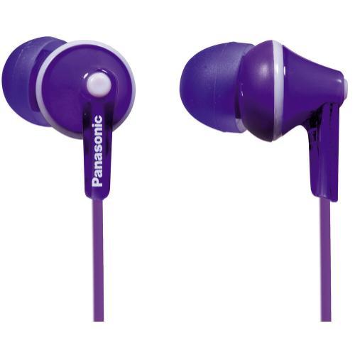 ErgoFit In-Ear Earbud Headphones - Violet - RP-HJE125-V