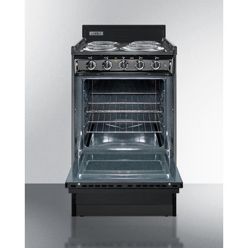 """Summit - 20"""" Wide Electric Coil Range"""