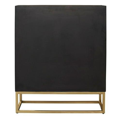 28464 Glass Door Cabinet