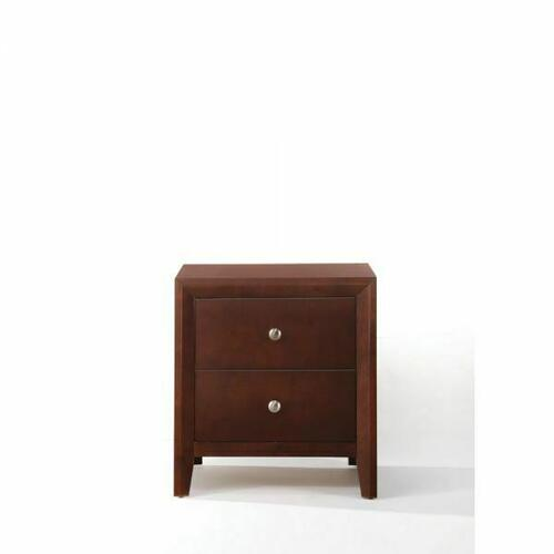 ACME Ilana Nightstand - 20403 - Brown Cherry