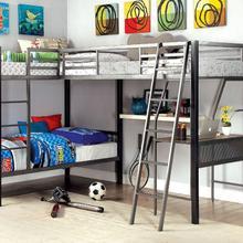 See Details - Ballarat L-shaped Triple Twin Bunk Bed
