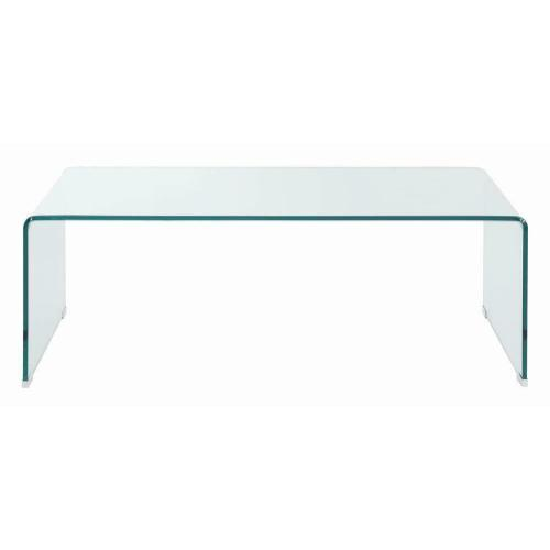 Product Image - Contemporary Clear Coffee Table
