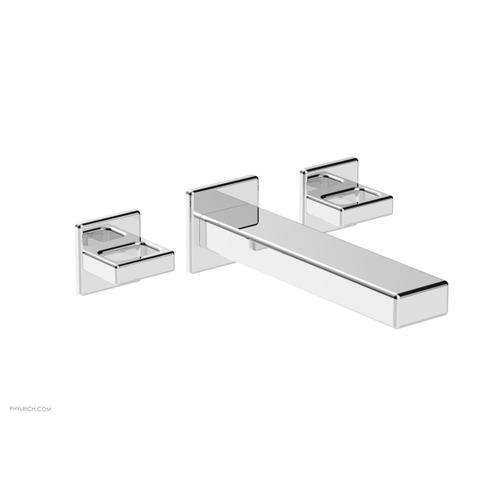 MIX Wall Lavatory Set - Ring Handles 290-13 - Polished Chrome