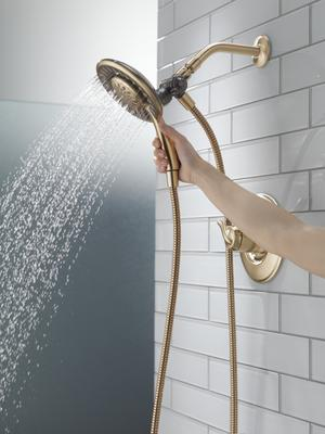 Champagne Bronze Monitor ® 17 Series Shower Trim with In2ition ® Product Image