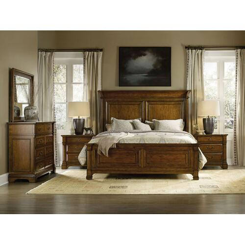 Bedroom Tynecastle King Panel Rails