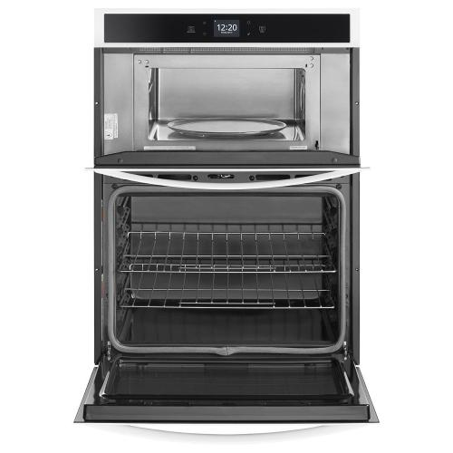 Whirlpool Canada - 6.4 cu. ft. Smart Combination Wall Oven with Touchscreen