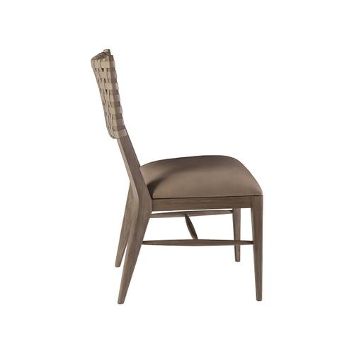 Milo Leather Side Chair