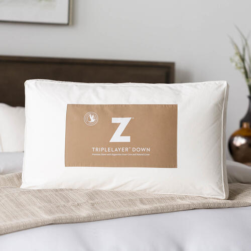 Z TripleLayer Down Pillow King