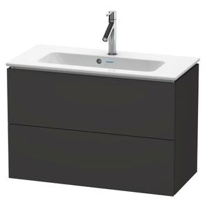 Vanity Unit Wall-mounted Compact, Graphite Super Matte
