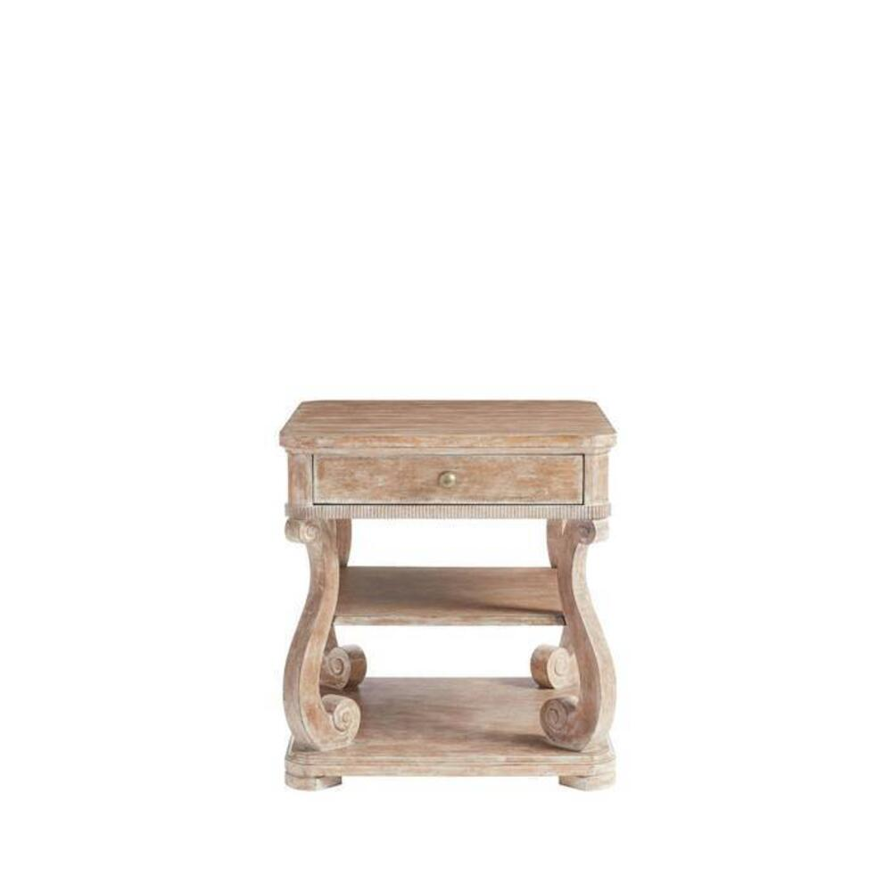 Juniper Dell End Table - English Clay