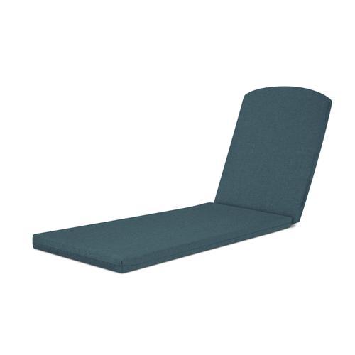 """Blend Lagoon Chaise Cushion - 77""""D x 21.25""""W x 2.5""""H"""