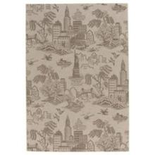 "Finesse-NY Toile Barley - Rectangle - 3'11"" x 5'6"""