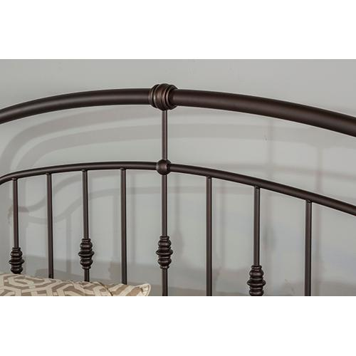 Pearson King Bed, Oiled Bronze