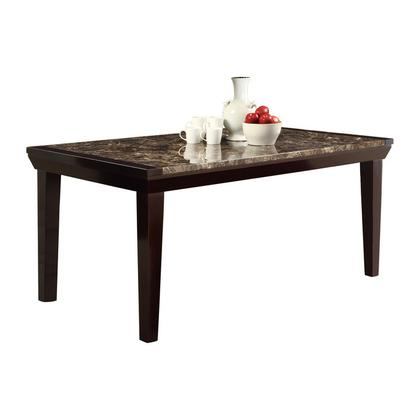 See Details - DINING TABLE, FAUX MARBLE