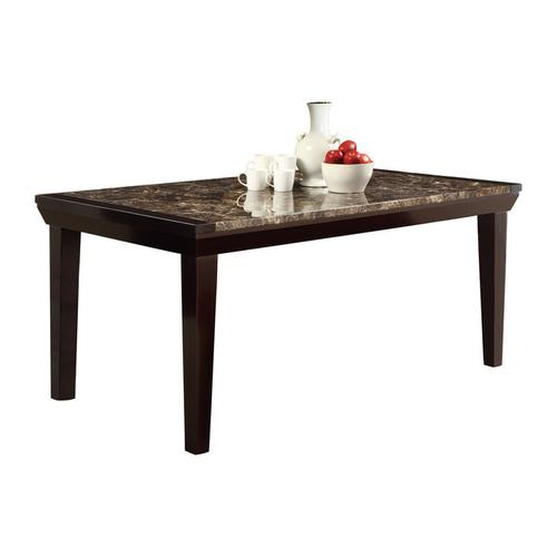 Gallery - DINING TABLE, FAUX MARBLE