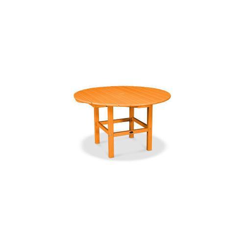 Polywood Furnishings - Kids Dining Table in Tangerine