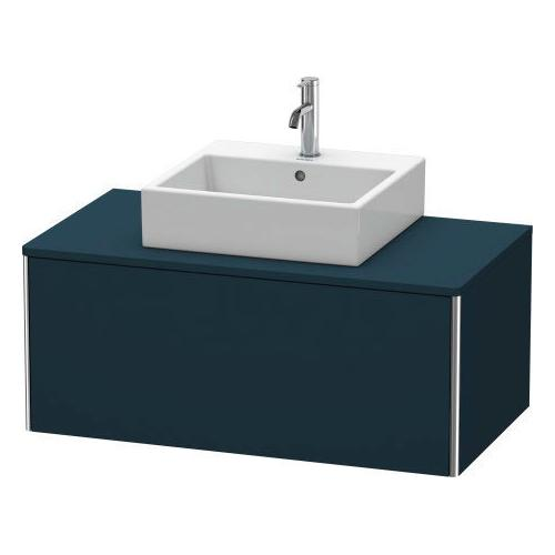 Duravit - Vanity Unit For Console Wall-mounted, Night Blue Satin Matte (lacquer)