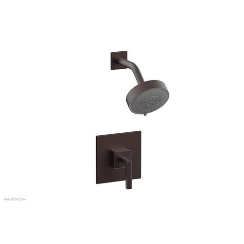MIX Pressure Balance Shower Set - Lever Handle 290-22 - Weathered Copper