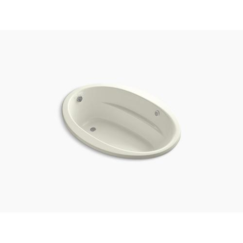"""Biscuit 60"""" X 42"""" Heated Bubblemassage Air Bath With Reversible Drain"""