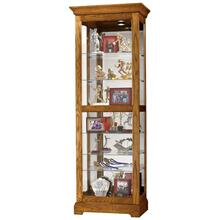 See Details - Howard Miller Moorland Curio Cabinet 680471