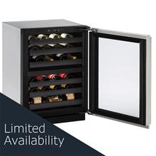 "3024zwc 24"" Dual-zone Wine Refrigerator With Stainless Frame Finish and Left-hand Hinge Door Swing (115 V/60 Hz Volts /60 Hz Hz)"