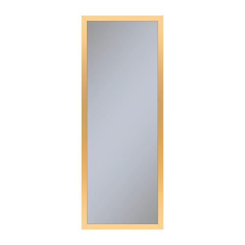 """Profiles 11-1/4"""" X 30"""" X 6"""" Framed Cabinet In Matte Gold With Electrical Outlet, Usb Charging Ports, Magnetic Storage Strip and Left Hinge"""