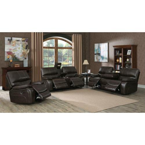 Coaster - Willemse Chocolate Reclining Three-piece Living Room Set