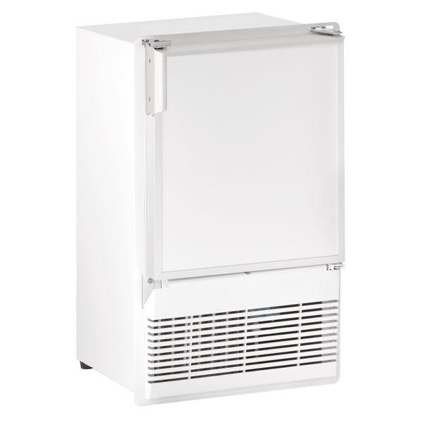 """U-LineWh95fc 14"""" Crescent Ice Maker With White Solid Finish (230 V/50 Hz Volts /50 Hz Hz)"""